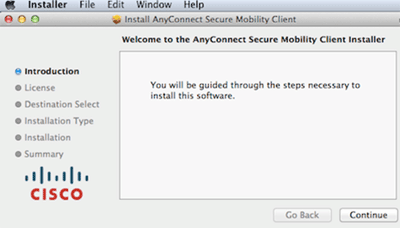 The RTL - Installing the VPN software instructions for Mac